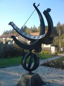 Sluneční hodiny Strančice