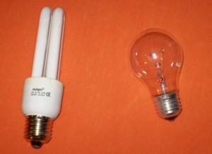 Hodná vs. zlá žárovka