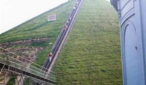 kopec u Waterllo uměle nasypaný
