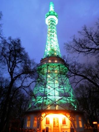 Zelená Petřínská rozhledna